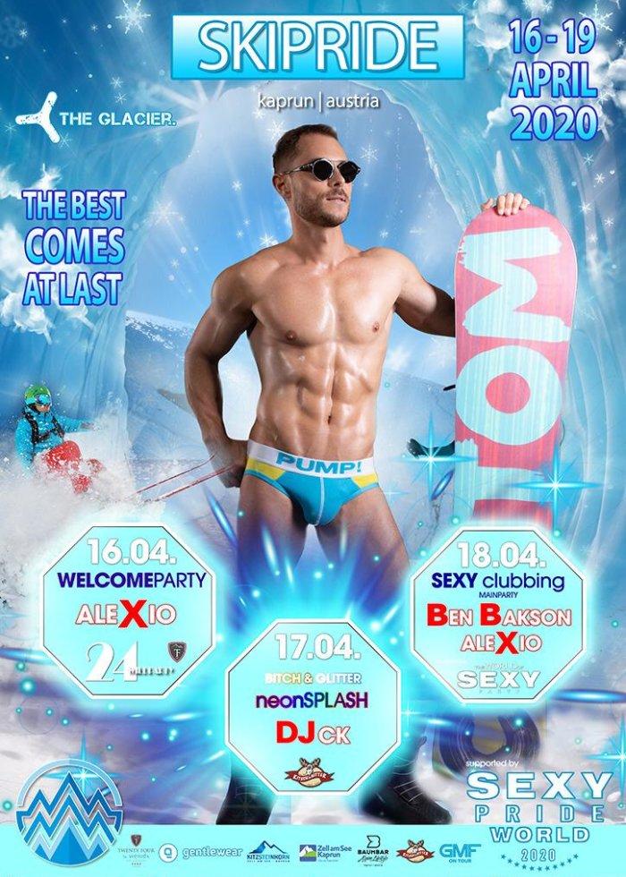 Gay Skipride Kaprun 2020 - 16th to 19th April 2020 in the ski area Kap