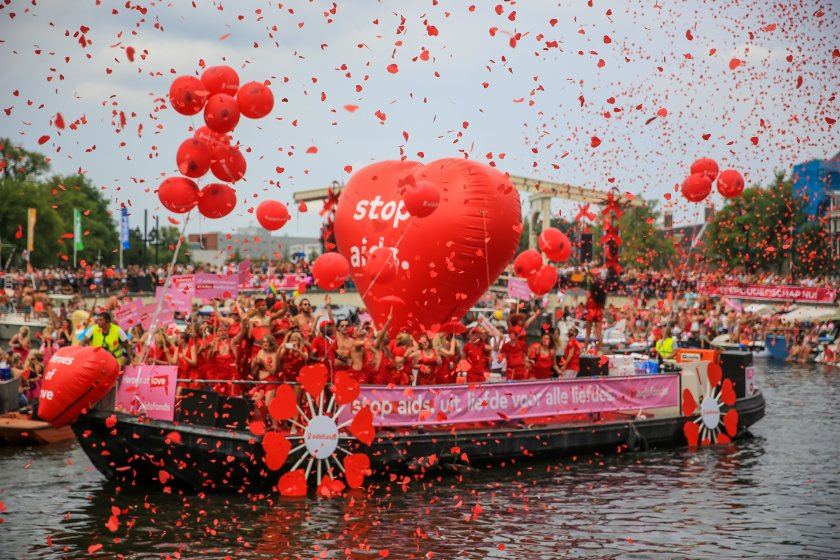 CSD Amsterdam & Canal Pride - Gay event tip for Amsterdam