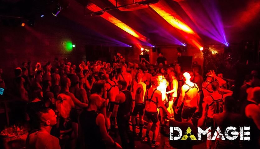 Damage - The biggest cruising-, dance- and fetish-party in Amsterdam