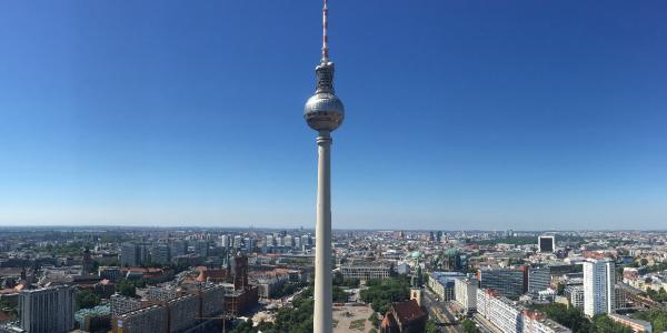 Berlin Syline - Fernsehturm Berlin