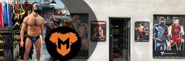 Maskulo Store in Berlin - Gay Fetisch Bekleidung für Männer