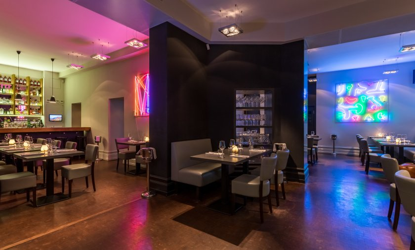 Berlin restaurant and wine bar with upscale contemporary cuisine