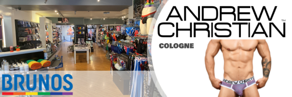 Andrew Christian @ Brunos Cologne - your Gay Fashion & Erotic Store