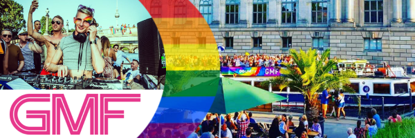 GMF Berlin Pride Boat - Schiffstour zum CSD Berlin