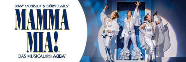 Mamma Mia - Veranstaltungstipp - Das Musical mit den Hits von ABBA
