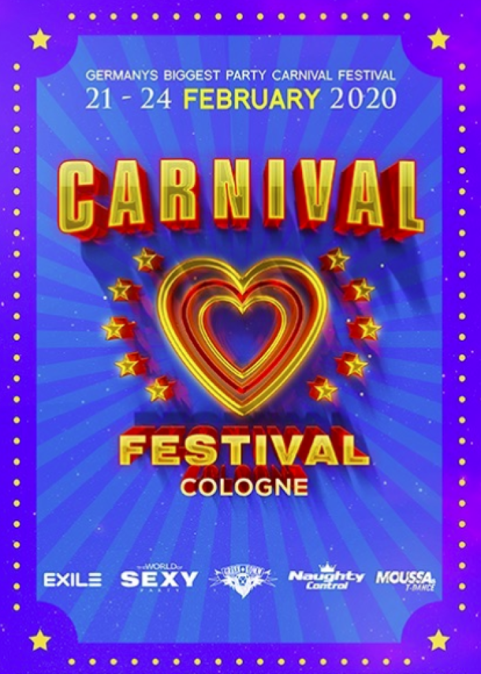 Carnival Festival 2020 - the biggest gay carnival party in Cologne