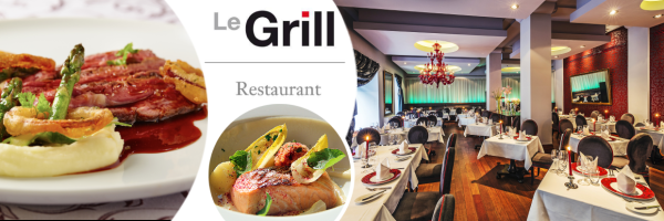 Le Grill Restaurant - one of the most elegant restaurants in Prague