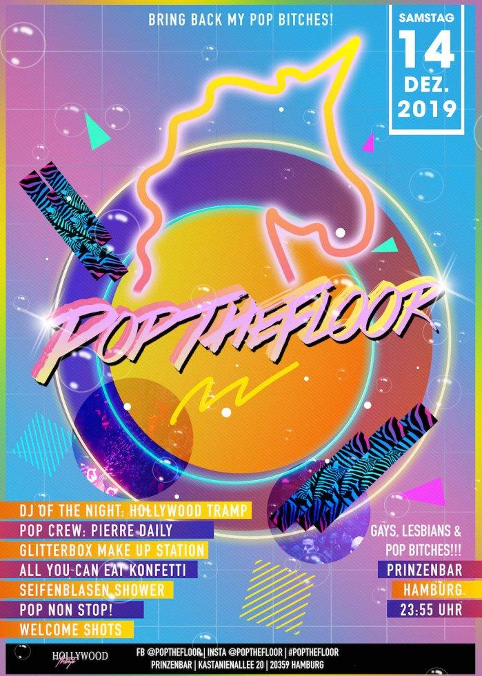 Pop The Floor @Prinzenbar: Gay-Pop-Party in Hamburg