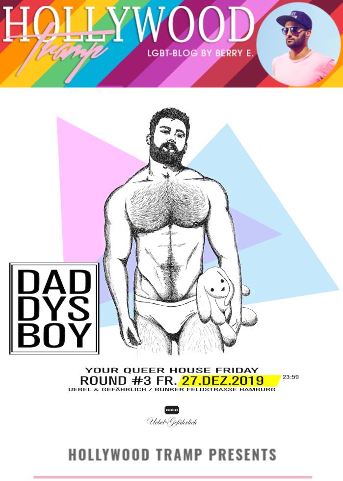 Daddyboys - Daddyboys - Your Queer House Friday @ Bunker Hamburg