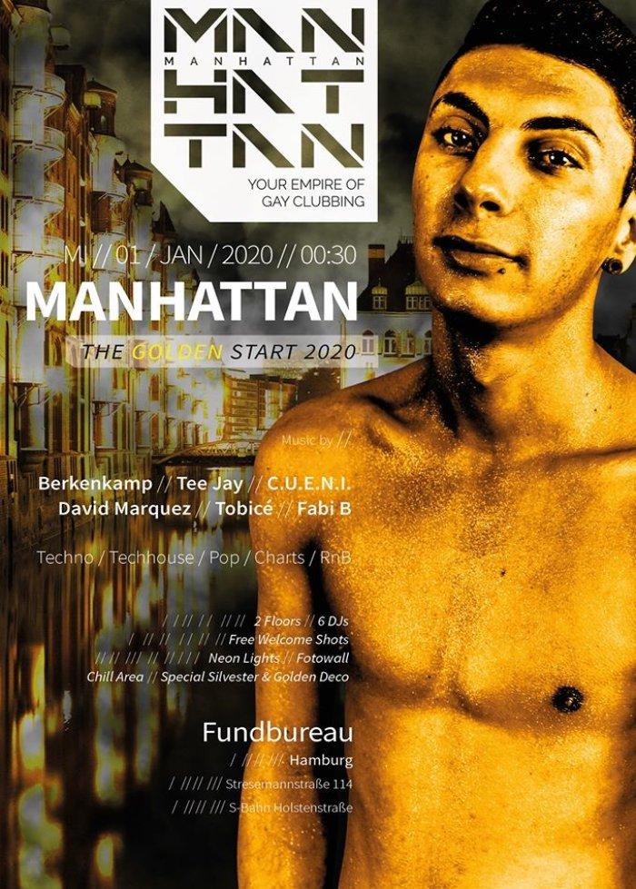 MANHATTAN - The Golden Start 2020 @ Fundbureau - January 1, 2020