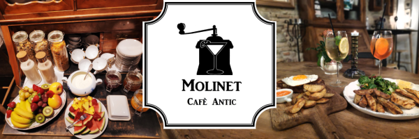 Molinet Cafè Antic - Breakfast and chillout bar in Barcelona