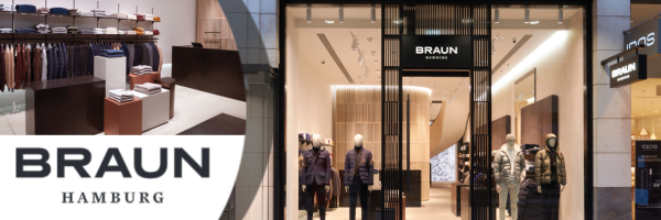 BRAUN Hamburg - Mönckebergstraße: Designer fashion for men in Hamburg