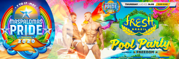 Fresh a Festa Pool Party - Pride Maspalomas, powered by Freedom Party