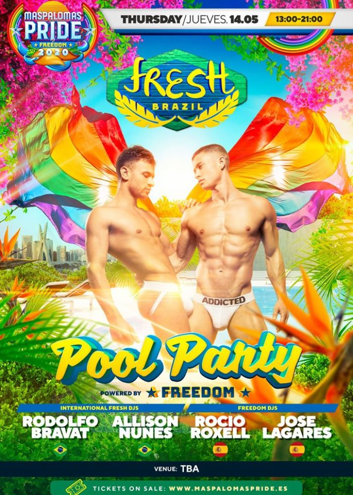 Fresh a Festa Pool Party - Official Event Maspalomas Pride 2020