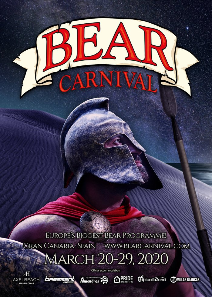 Bear Carnival 2020 - Your Bear Festival on Gran Canaria