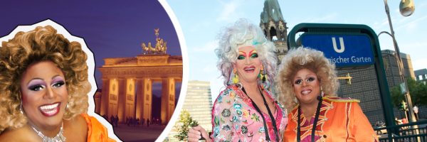 Olivia Jones\' Berlin city tour - with Gloria Glamour: sightseeing show