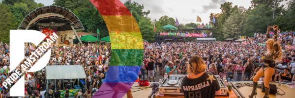 Pride Opening Event Amsterdam: Pride Park