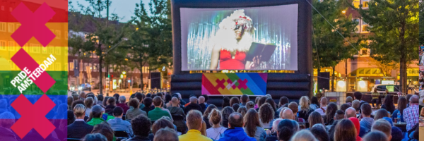 Pink Movie Nights: Das Open Air Kino zum Gay Pride Amsterdam