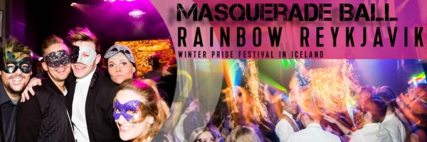Masquerade Ball - Pink Party Masquerade Ball @ Reykjavik Winter Pride