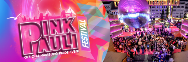 PINK PAULI Festival: the biggest PRIDE party in Hamburg
