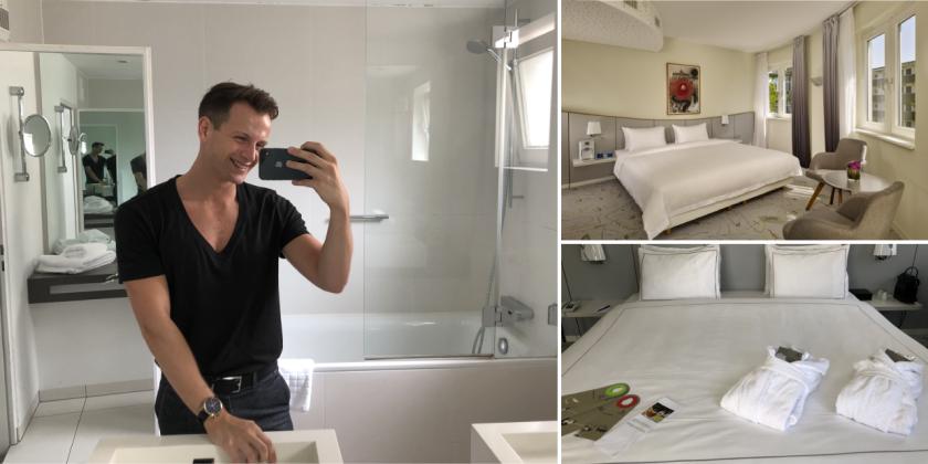 Park Plaza Berlin Kudamm - Dominik testet Doppelzimmer und Badzimmer