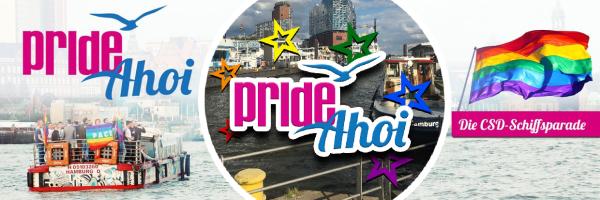 CSD Hamburg: Pride Ahoi - the queer ship parade on the Elbe