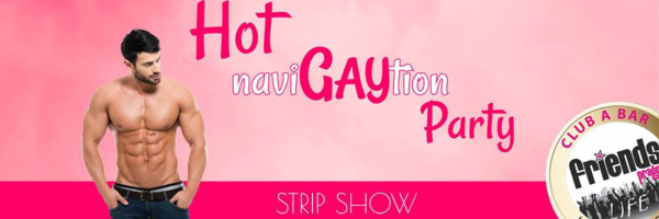 HOT NaviGAYtion Party @ Friends Club Prague - Male Strip Show