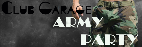 Army Party @ Club Garage: Gay Cruising Club & Bar in Prague