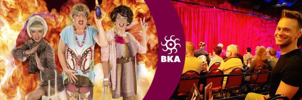 Die Show @ BKA Theater: Ades Zabel, Biggy van Blond & Bob Schneider