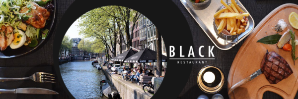 Restaurant Black in Amsterdam - French cuisine, steaks and salads