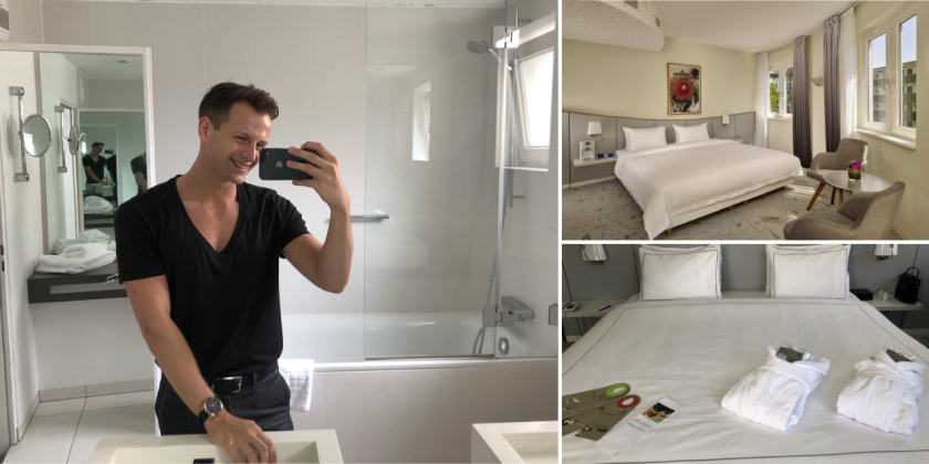 Park Plaza Berlin Kudamm - Dominik tests double rooms and bathrooms