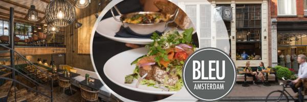 Bistro Brasserie Blue - Cosy café & restaurant in Amsterdam