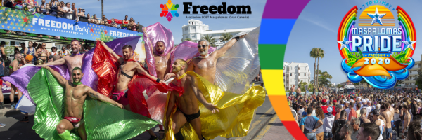 Maspalomas Street Parade - Gay Pride on Gran Canaria
