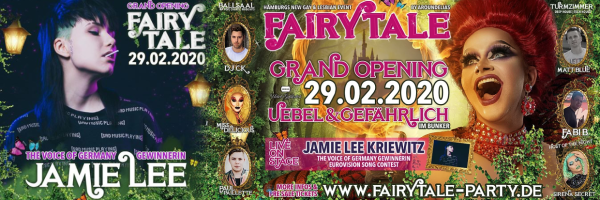 Fairytale Party - Hamburg\'s new LGBTQ Party - Grand Opening