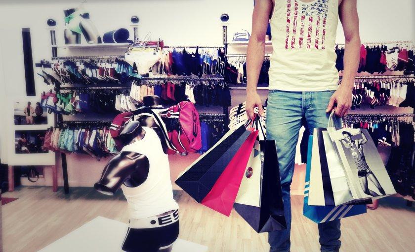 Pinksider Artikel- schwule Einkaufstour durch Berlin