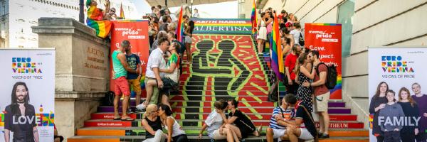 Vienna Pride Festival: Rainbow Pride March and Pride Village