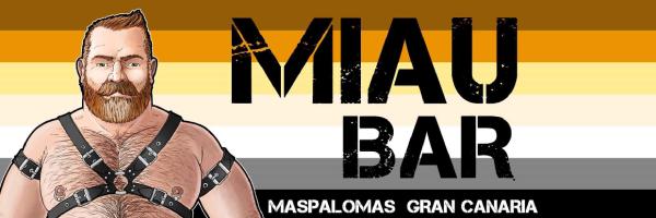 MIAU Bar - scene bar of the bear community for men only in Maspalomas