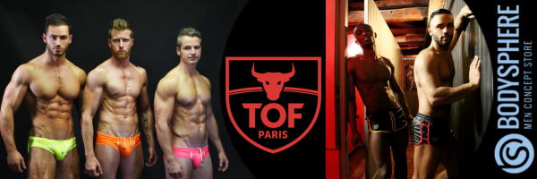 TOF Paris @ Bodysphere - Gay clothes | Clubwear, Fetish, Underwear‎