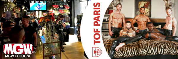 TOF Paris @ MGW Cologne - Shopping for men in Cologne