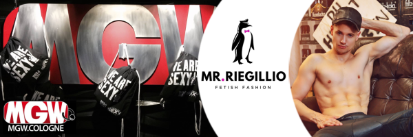 Mr Riegillio leather & fetish clothing @ MGW Store in Cologne