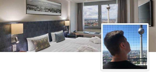 Park Inn Hotel Alexanderplatz: Brian testet Berlins höchstes Hotel