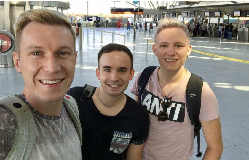 Trärchen Gay travel Berlin - Fughafen Thempehof