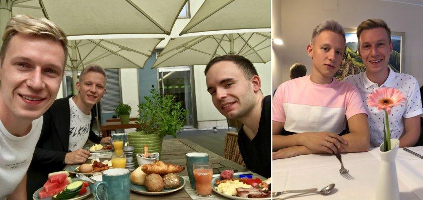 Trärchen Frühstück im Lindener Hotel am Ku´damm