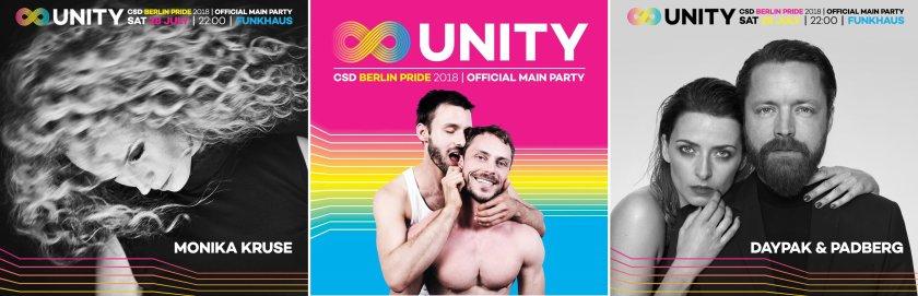 UNITY Berlins offizielle CSD Party - Internationale Top DJs