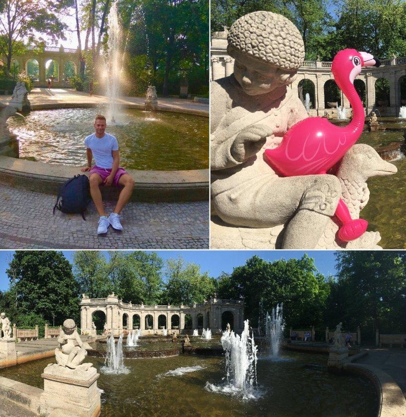 Märchenbrunnen im Volkspark Friedrichshain - Berliner Parks