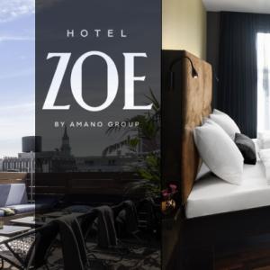 Hotel ZOE Berlin - Roof terrace and double room