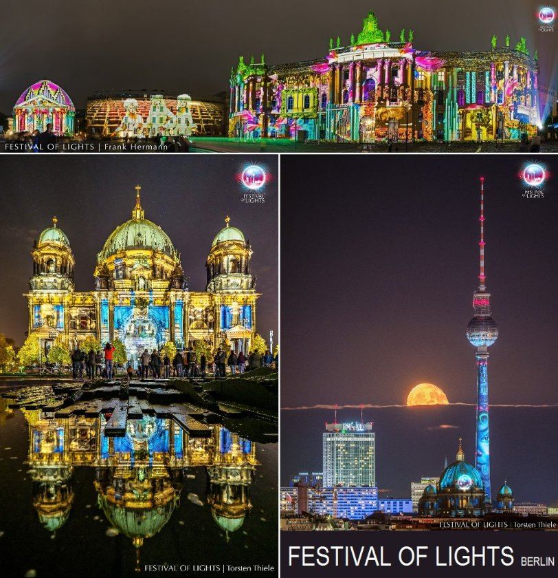 Festival of Lights Berlin 5. - 14t. Oktober 2018