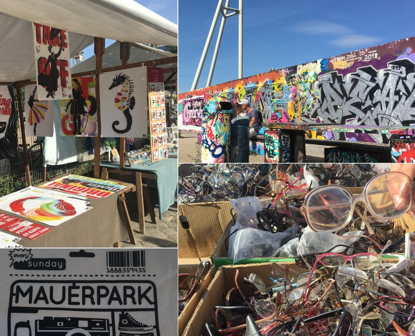 Mauerpark Berlin - Karaoke and Flea Market every Sunday