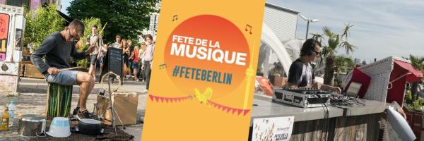 Fête de la Musique - Musik Festival in Berlin