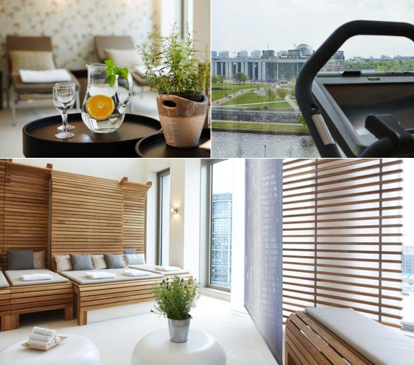 Wellnessbereich im Steigenberger Hotel Am Kanzleramt